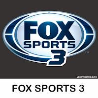 Canal FOX SPORTS 3 En Vivo