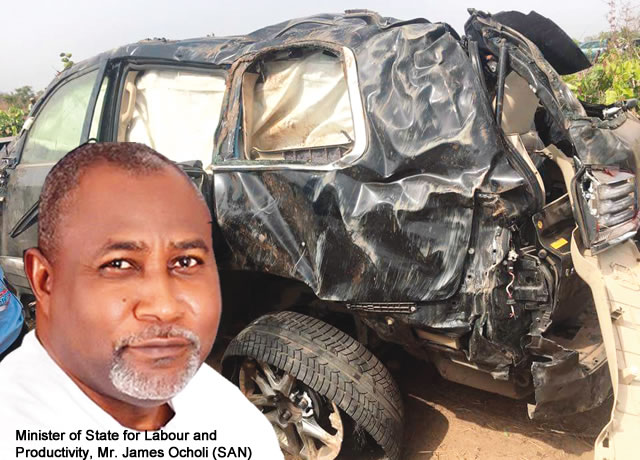 Tears as minister, Ocholi, wife, son die in auto crash