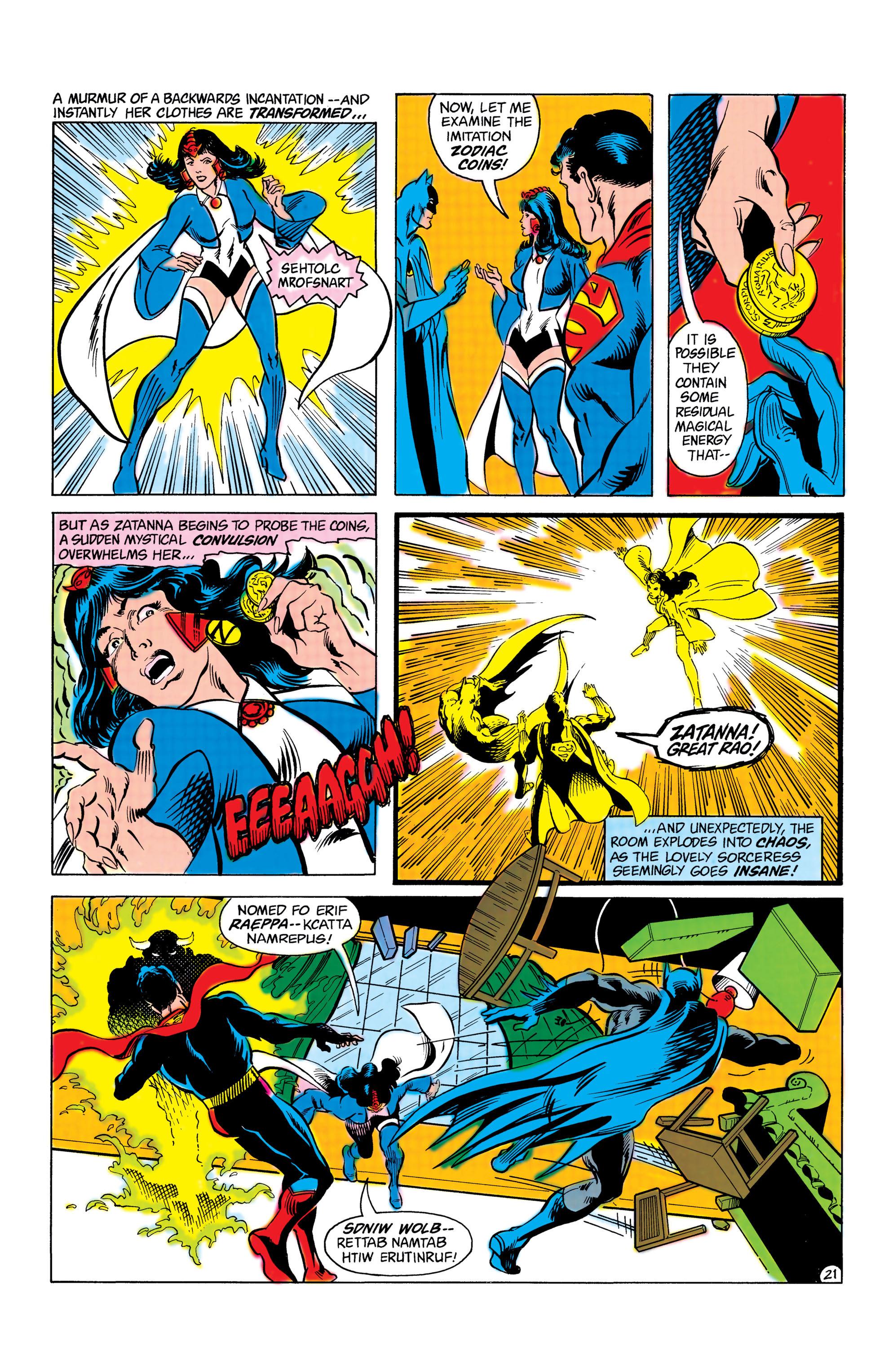Read online World's Finest Comics comic -  Issue #285 - 22