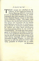 """Preface to """"The Squire's Recipes"""" that describes the circumstances surrounding its 'discovery.'"""
