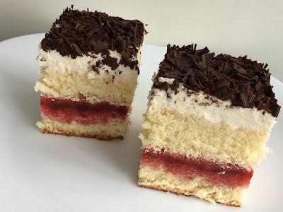 Ciasto z mascarpone i truskawkami