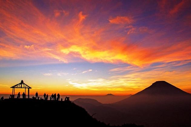 Tempat Wisata Wonosobo - Bukit Sikunir