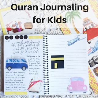 Quran journaling about haj