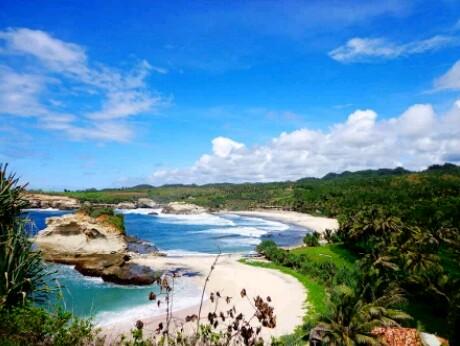 foto menakjubkan pantai klayar