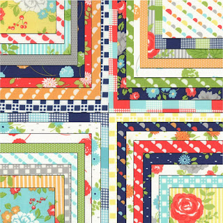 Moda HAPPY GO LUCKY Quilt Fabric by Bonnie & Camille