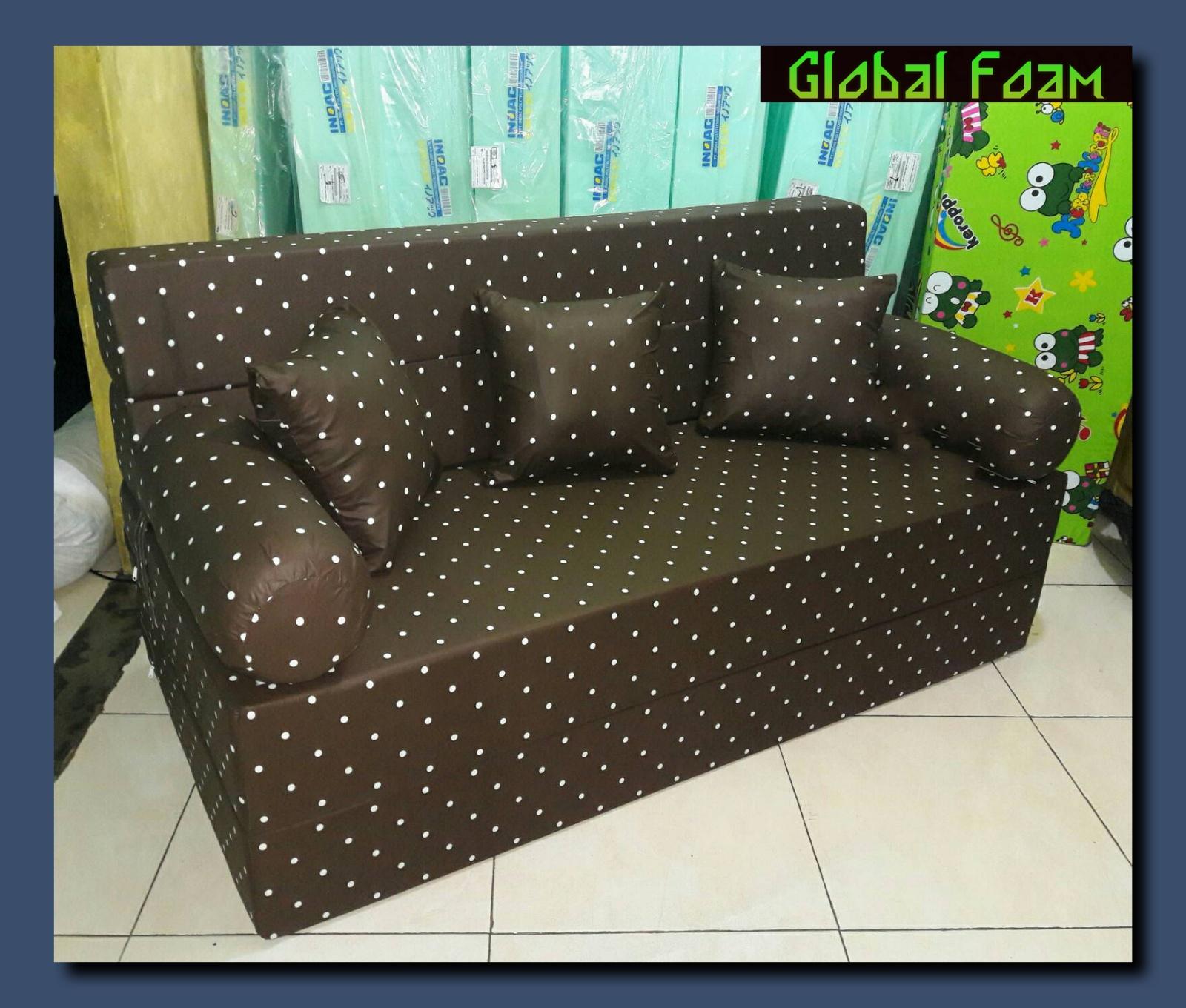 harga cover sofa bed inoac leather sofas staples corner kasur lipat agen resmi terbaru agustus 2017