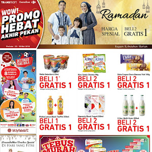 Katalog Promo Carrefour Weekend 25 - 30 Mei 2018