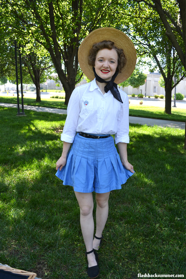 Little Debbie Picnic Outfit - Flashback Summer