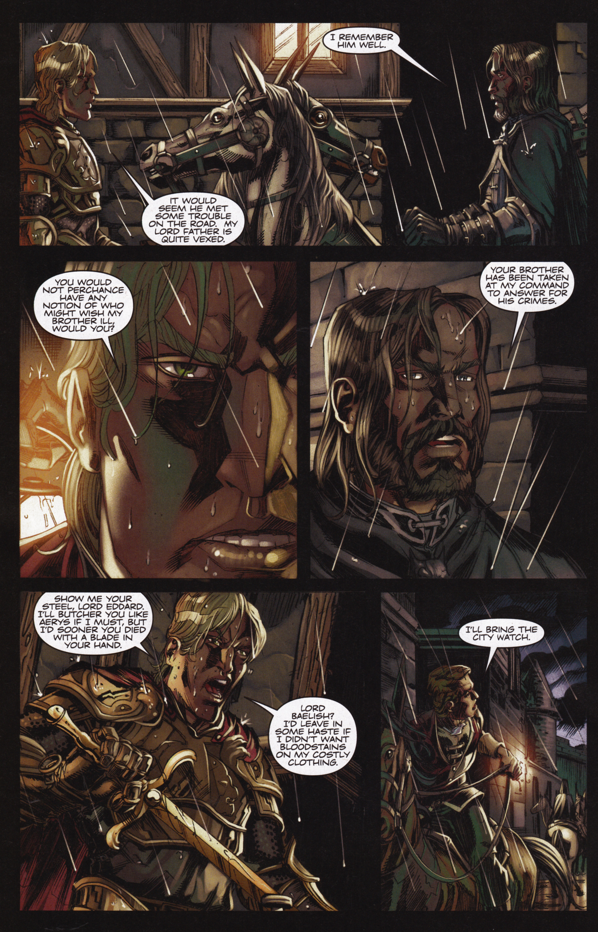 Read online A Game Of Thrones comic -  Issue #12 - 28