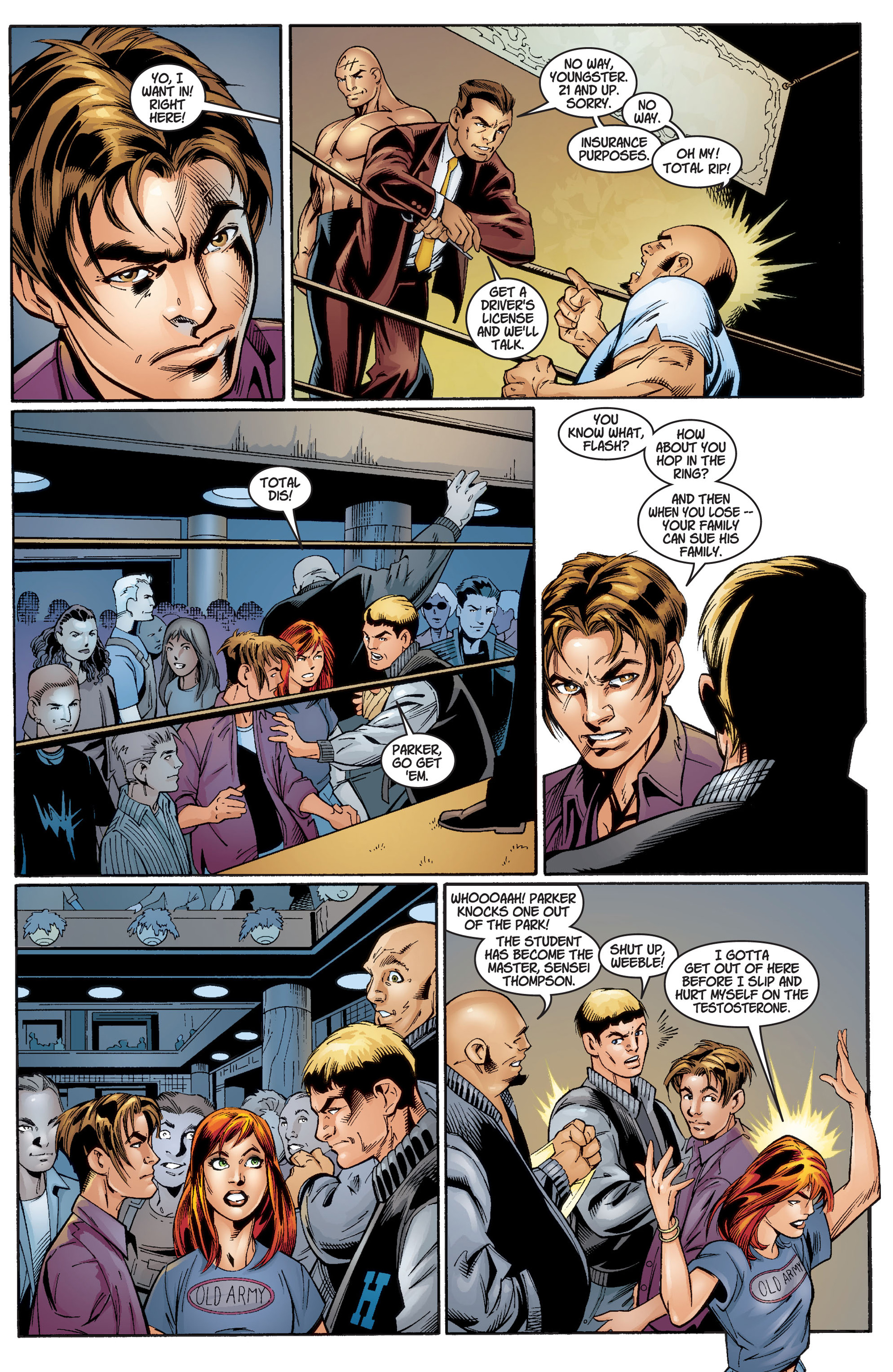 Read online Ultimate Spider-Man (2000) comic -  Issue #3 - 7