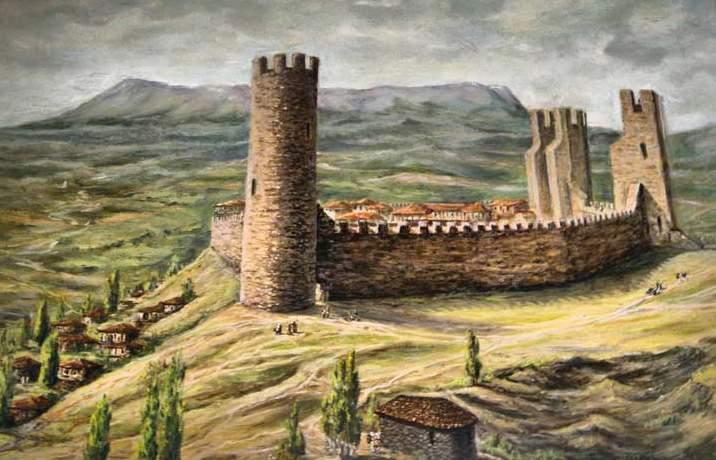 Крепость Алустон (Алушта)
