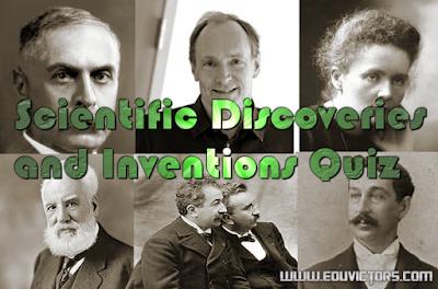 CBSE Class 6 - 10 - Scientific Discoveries and Inventions Quiz (#sciencequiz)(#eduvictors)