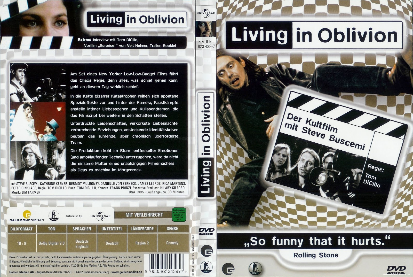 A movie analysis of living in oblivion