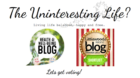 We're Shortlisted for the Littlewoods Ireland Blog Awards Health & Well-Being Category