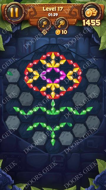 Gems & Magic [Titanium] Level 17 Solution, Walkthrough, Cheats