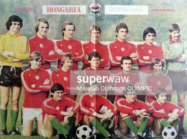 POSTER HUNGARY TEAM SQUAD