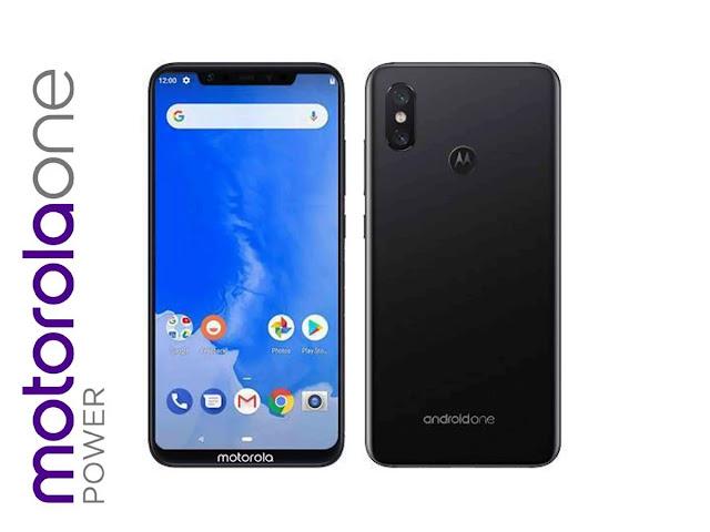 Smartphone Motorola One dengan OS Pure Android