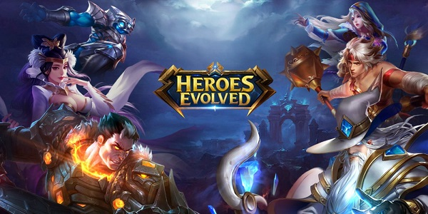 Game Moba Android Heroes Eveloved