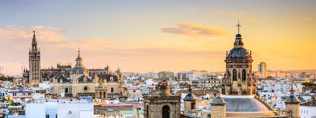 Tourism in Sevilla, Spain