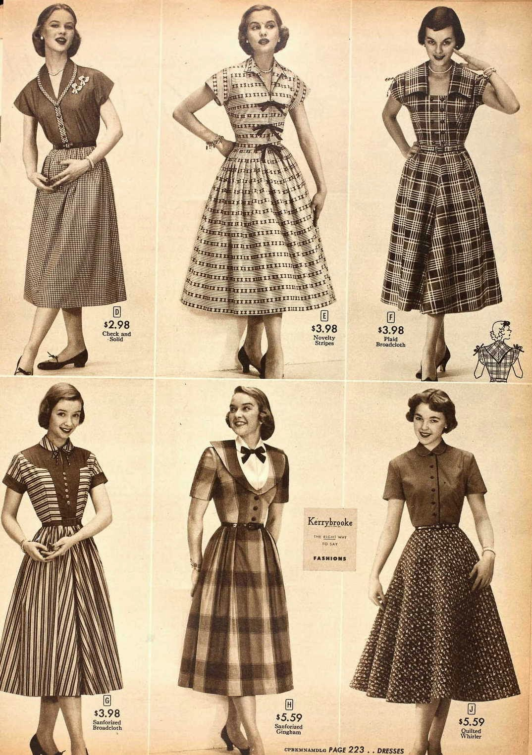 Snapped Garters Dress Of The Century 1950 1959