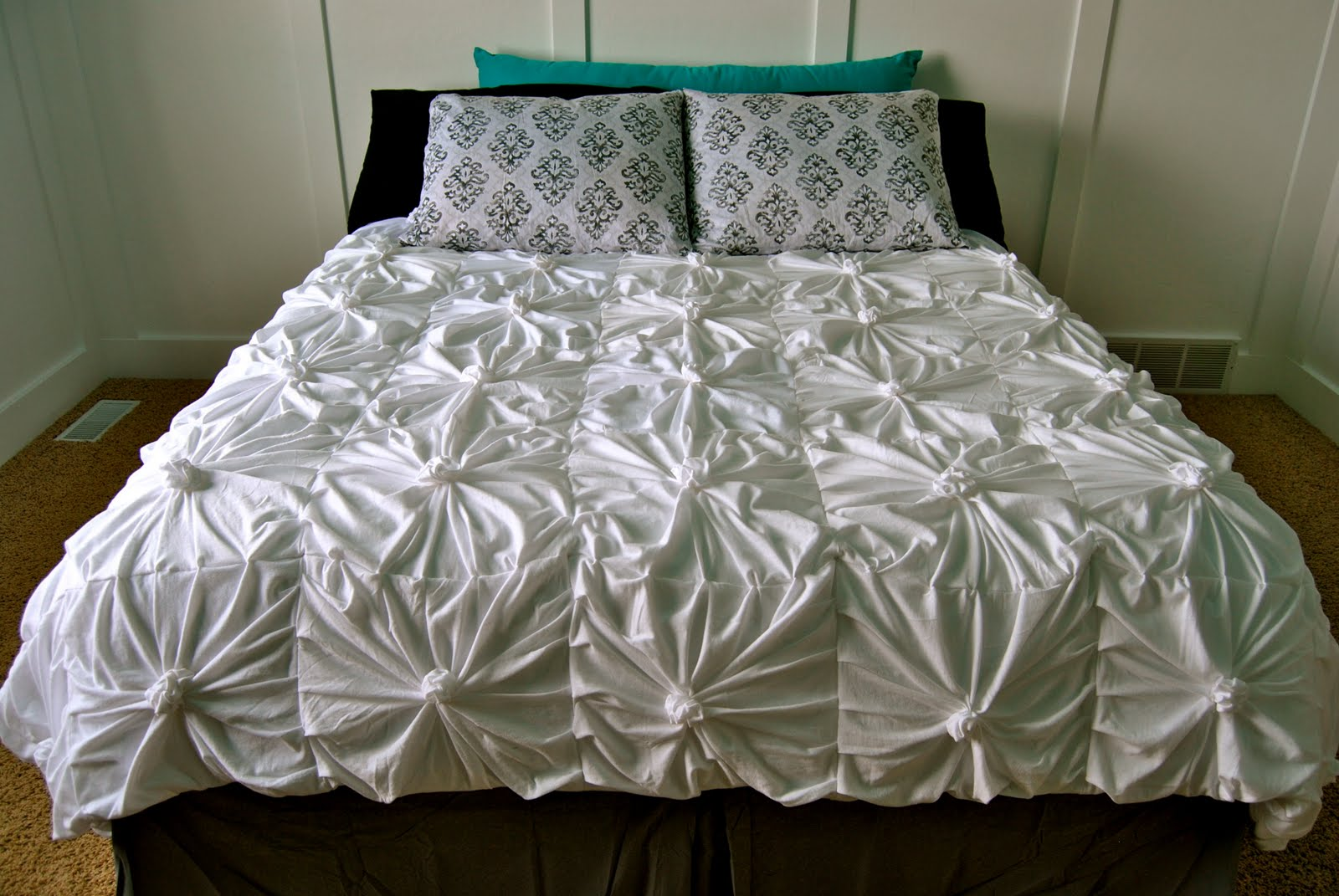 Anthropologie Inspired Knotted Bedding Also Inspired By