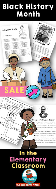black history, elementary students, teaching resources for black history