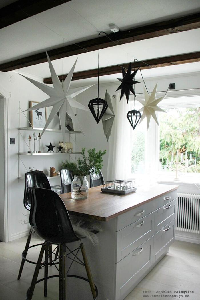 annelies design, webbutik, stjärna, house doctor, inredning, jul, julen, julpynt, advent, lampa kök, julprydnad