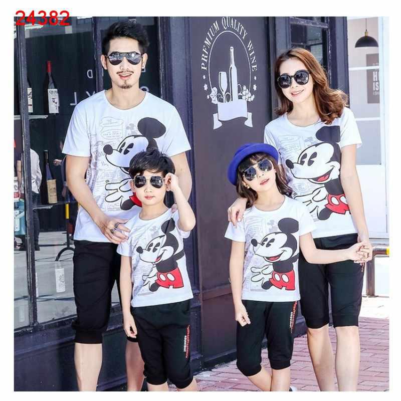 Jual Couple Keluarga Family Komik Mickey - 24382