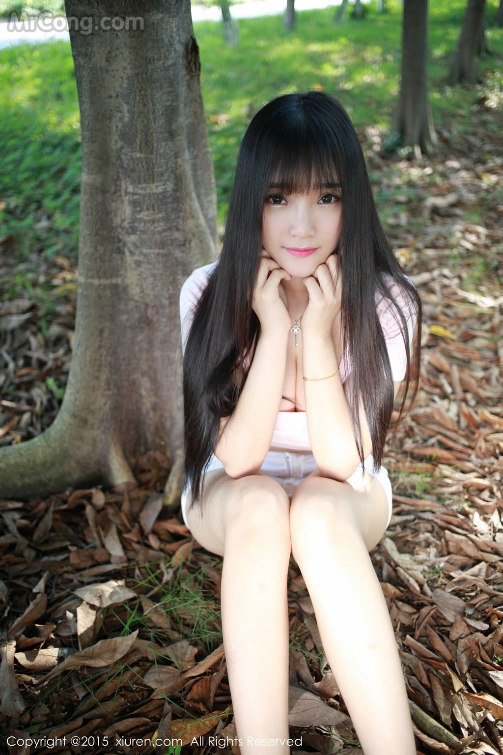 MrCong.com XIUREN No.345 Xia Yao baby 003 - XIUREN No.345: Model Xia Yao baby (夏 瑶 baby) (43 pictures)