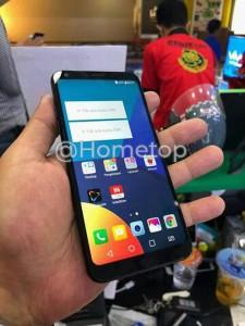 LG Q9 hands-on image leaks