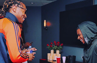 VIDEO: Wizkid spotted with Future in London