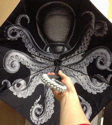 Paraguas de pulpo o sombrilla