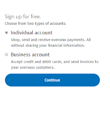 Paypal Account verify