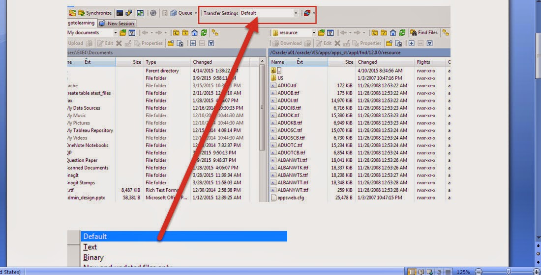 Oracle APPS :Winscp - eBiz Integration Technics