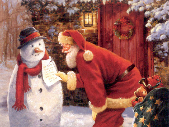 Merry Christmas santa clause images 2018
