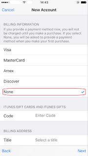 Comment créer un Apple ID d'autres pays sans carte de crédit 5