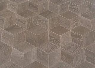 elemente parchet lemn efect 3d cuburi