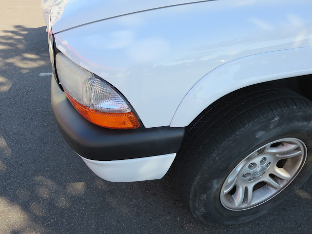Dodge Dakota after collision repairs at Almost Everything Auto Body.