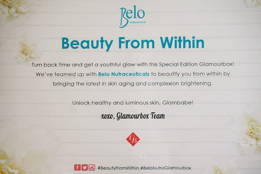 "Belo ""Beauty From Within"" Beauty Box"