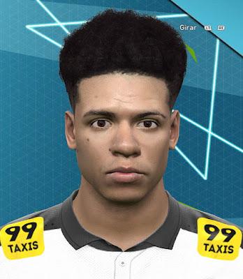PES 2016 Marquinhos Gabriel (SC Corinthians) Face by saviogoncalves1995