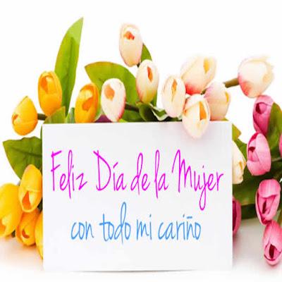 Feliz dia de la Mujer