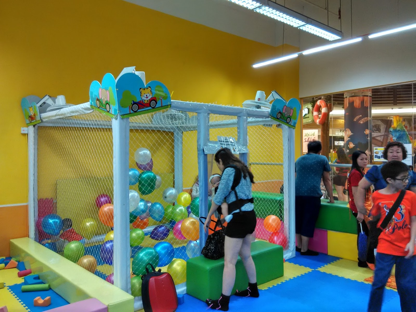 Jes One Stop: Fun Indoor Playground at JKids, Paradigm Mall