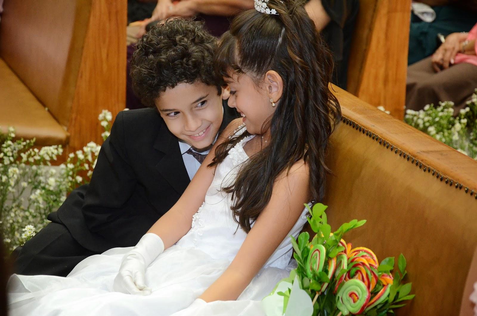 cerimônia - altar - pajem - daminha - dama - crianças