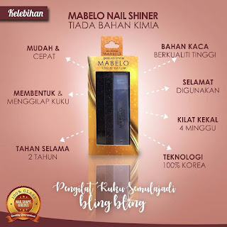 MABELO GLASS NAIL SHINER