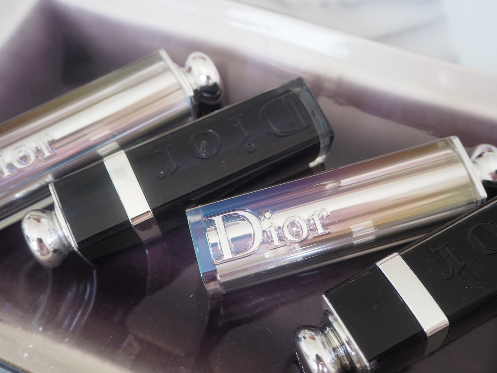 Dior Addict lipstick-Wonderful and After Party