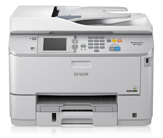printer I convey genuinely to a greater extent than for scanning than for printing Epson WorkForce Pro WF-5620 Driver Download