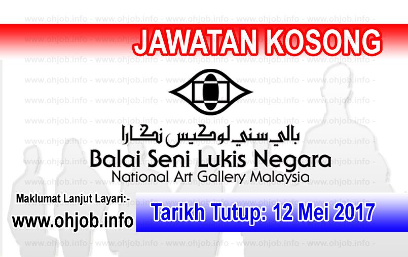 Jawatan Kerja Kosong Balai Seni Negara logo www.ohjob.info mei 2017