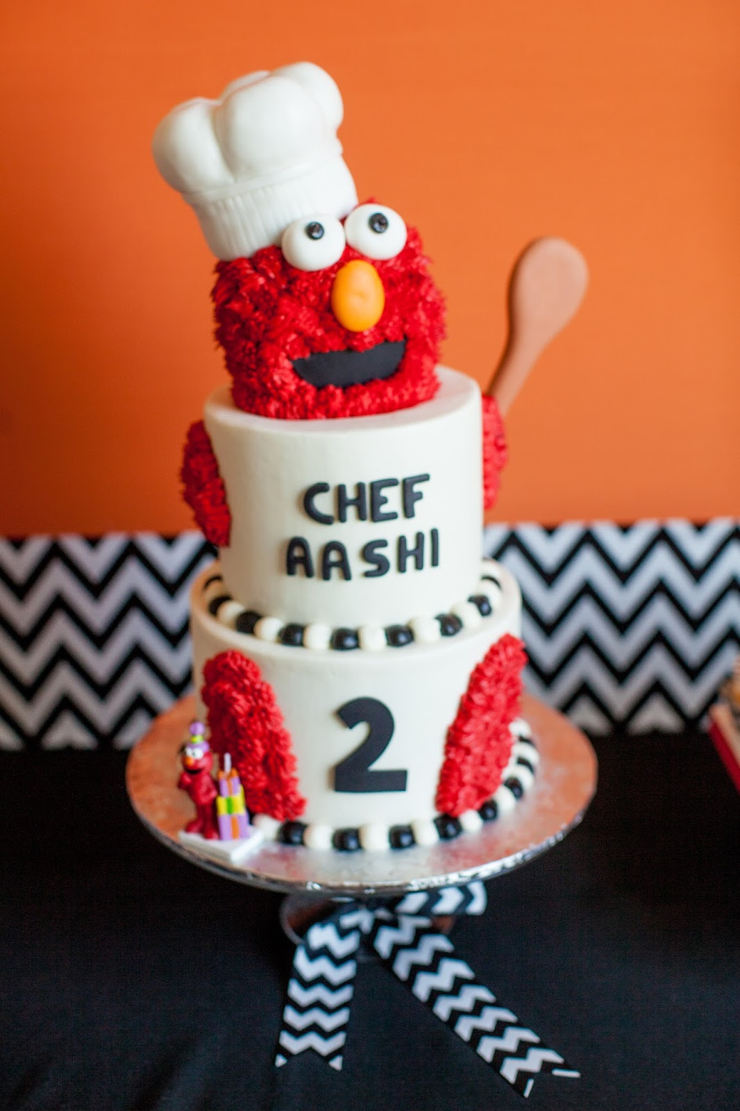 The Party Wall Chef Elmo Play Kitchen Birthday Party