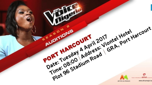 the voice nigeria season auditions port harcourt