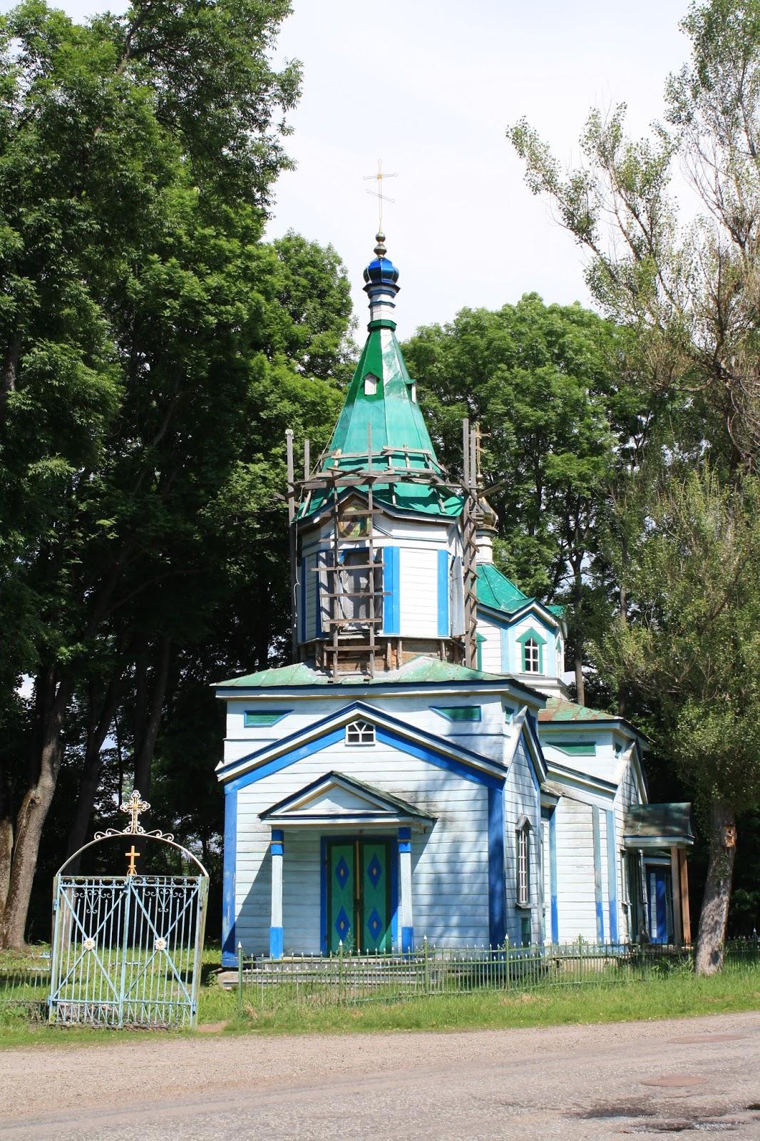 foto: cerkva Klishci
